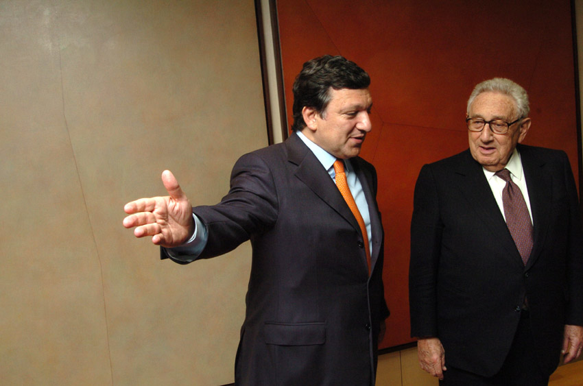 Visit of Henry Kissinger, Former US Secretary of State, to the EC