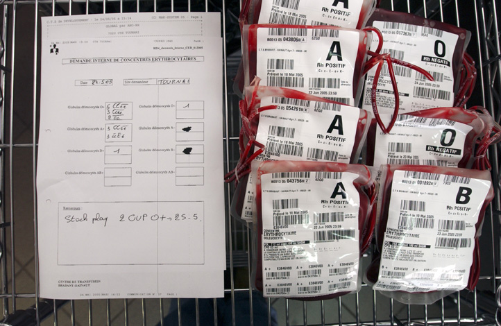 The traceability of blood