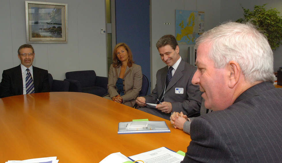 Visit of Barry Meyer, CEO of Warner Bros, to the EC