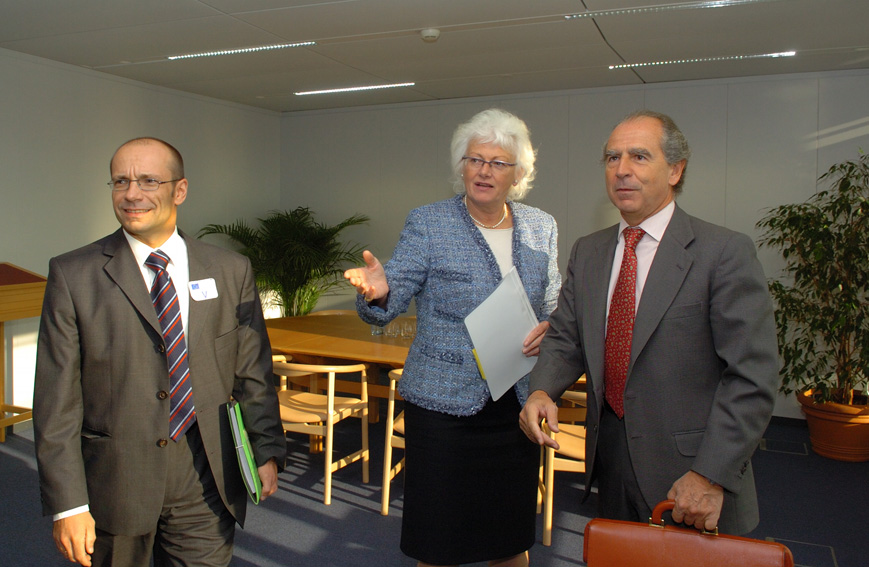 Visit of a delegation from the European Association of Biofuels, to the EC