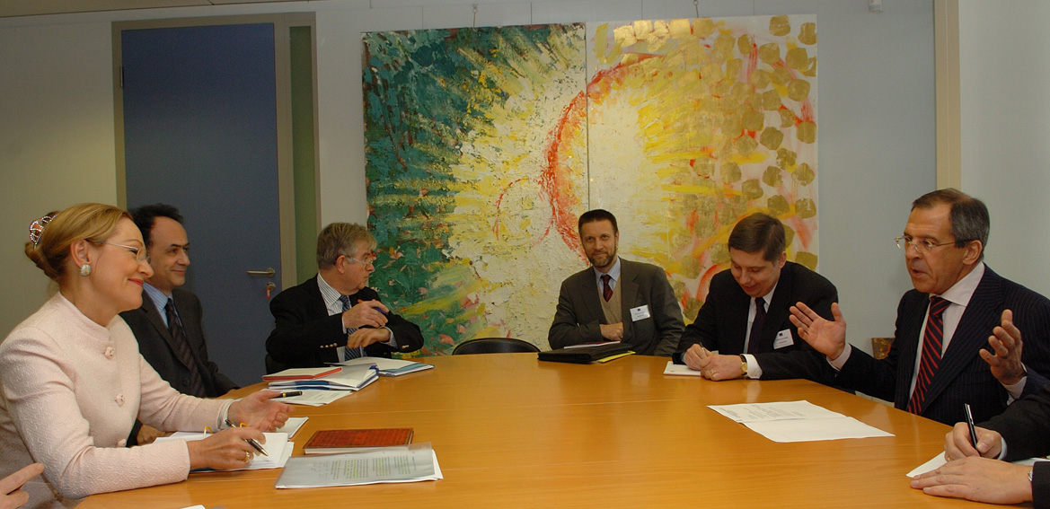 Visit by Sergei Lavrov, Russian Minister for Foreign Affairs, to the EC