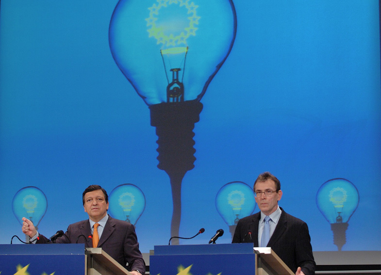 Press conference for the presentation of the Green Paper on an European Energy Policy