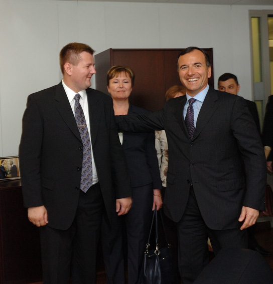 Visit by Ivica Kirin, Croatian Minister for the Interior, to the EC
