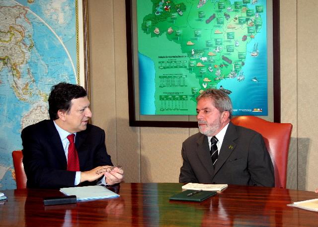 Visit by José Manuel Barroso, President of the EC, to Brazil