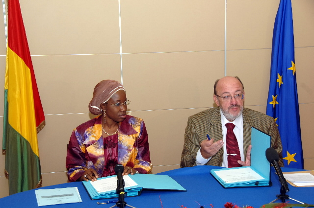 Visit by Fatoumata Sidibé Kaba, Guinean Minister for International Cooperation, to the EC