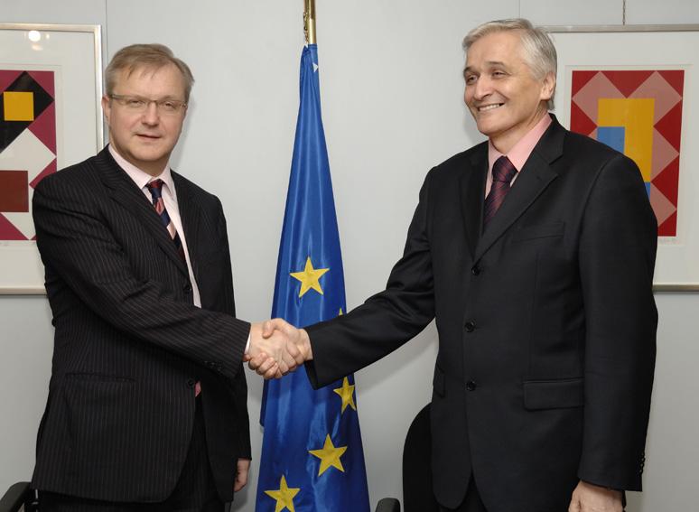 Visit by Nikola Špirić, Prime Minister of Bosnia and Herzegovina, to the EC