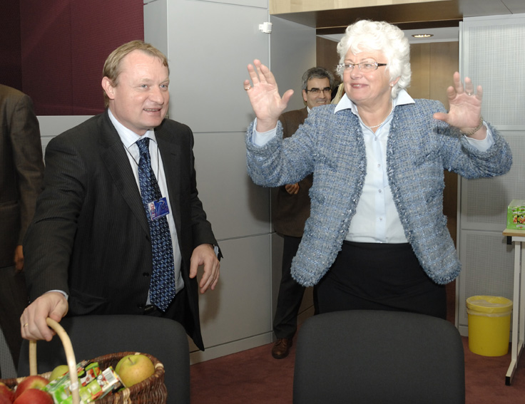 Visit of a delegation from the Polish Food Economy Council, to the EC