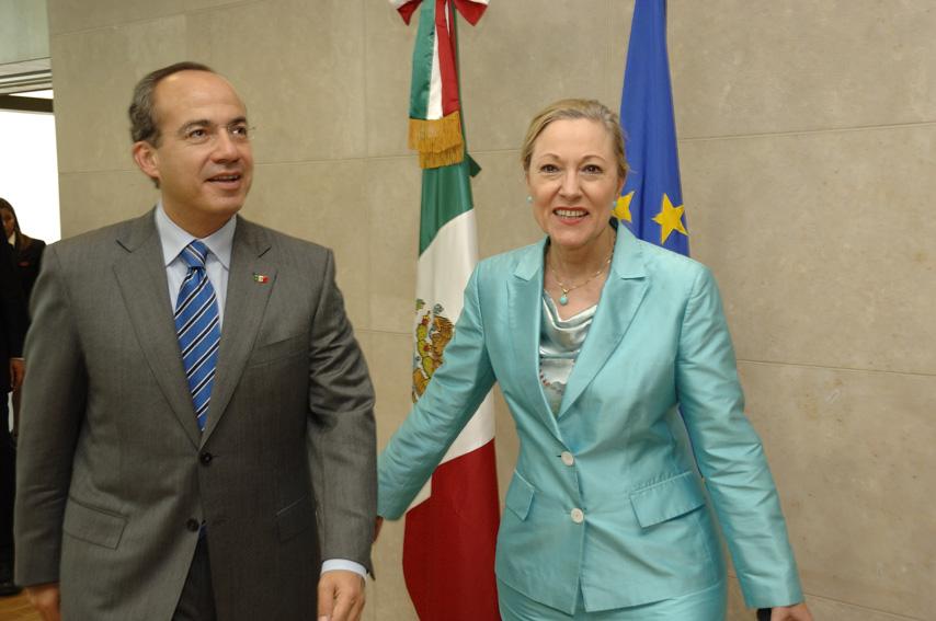 Visit by Felipe Calderón, President of Mexico, to the EC