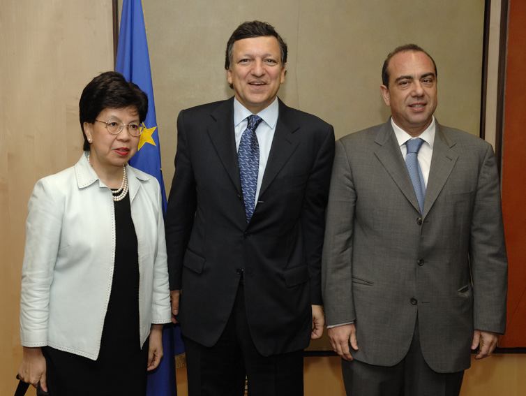 Visit by Margaret Chan, Director-General of the WHO, to the EC