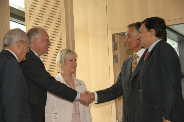 Visit by Aníbal Cavaco Silva, President of Portugal, to the EC