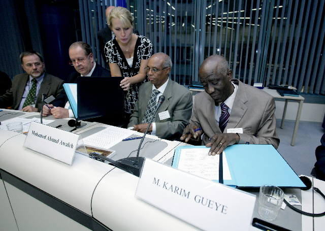 Signature of an agreement between OLAF/EuropeAid and the Forum of African General Inspections of State (FIGE)