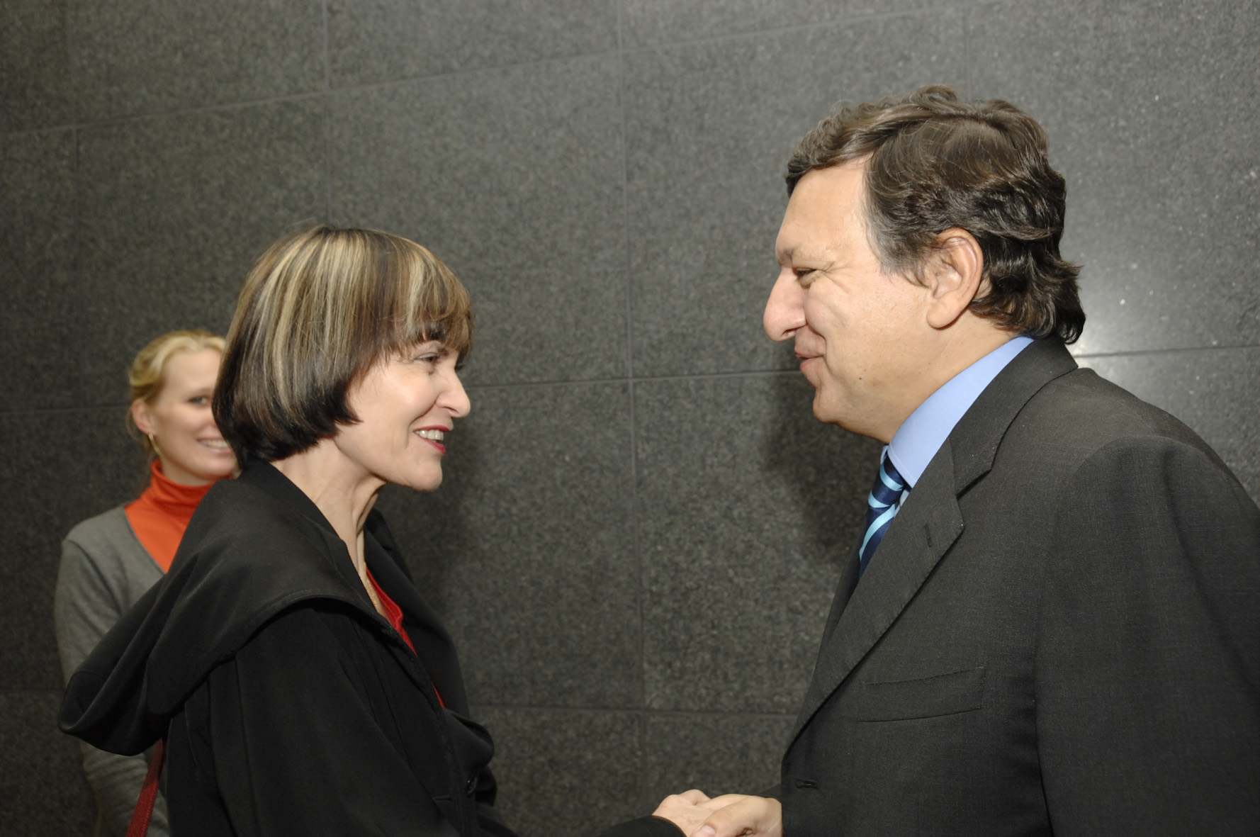 Visit by Micheline Calmy-Rey, President of the Swiss Confederation to the EC
