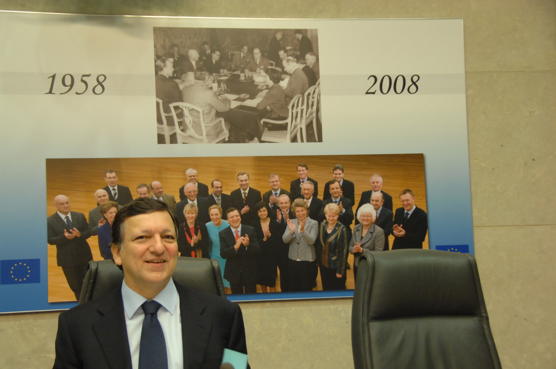 50th anniversary of the first meeting of the European Commission