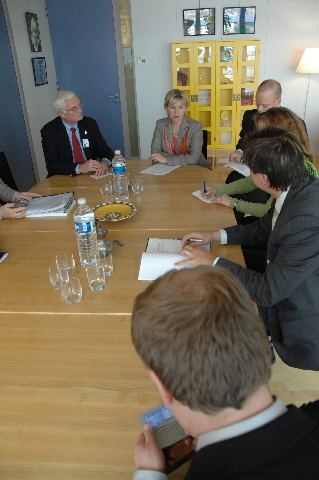 Visit by the Praesidium of the Grand Committee of the Finnish Parliament, to the EC