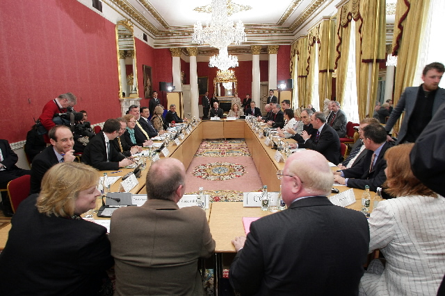 Visit by José Manuel Barroso, President of the EC, to Ireland