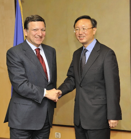 Visit of Yang Jiechi, Chinese Minister For Foreign Affairs, to the EC