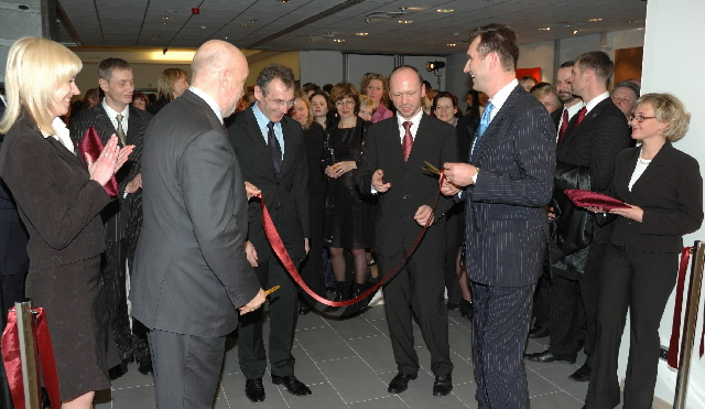 Participation of Andris Piebalgs, Member of the EC, in the ceremony for the opening of the new Permanent Representation of Latvia in Brussels