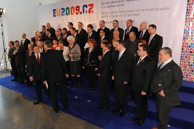 Inaugural meeting of the Czech Presidency of the Council of the EU with the EC