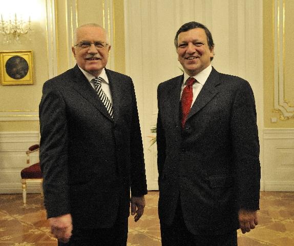 Réunion inaugurale de la présidence tchèque du Conseil de l'UE avec la CE