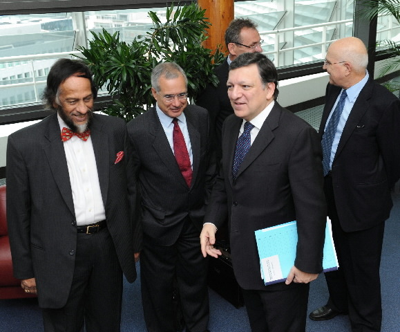 Visit of Nicholas Stern, Member of the consultative group of experts for Energy and Climate Change, and Rajendra Pachauri, Chairman of the IPCC, to the EC