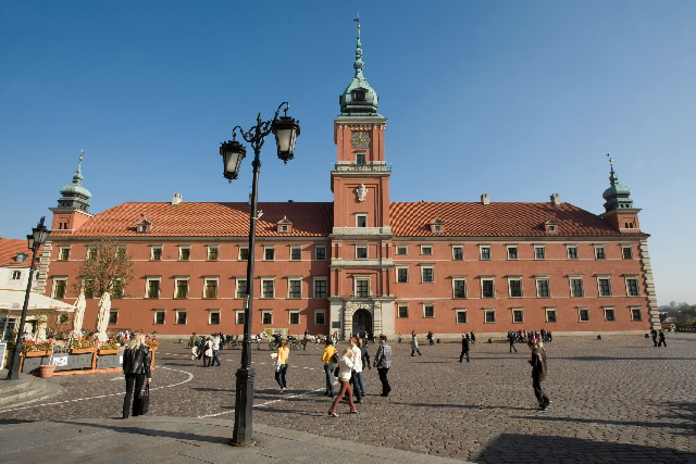 The capitals of the EU: Warsaw