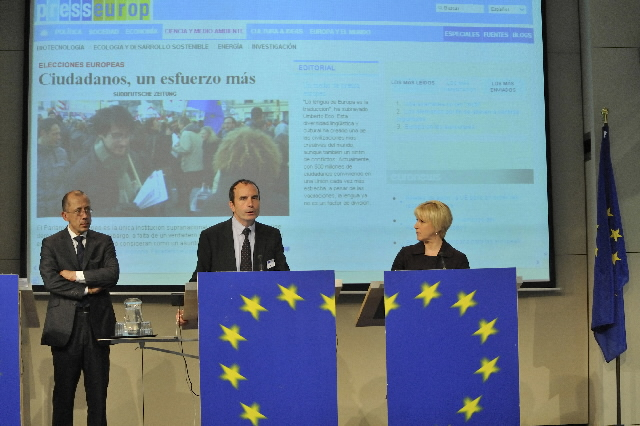 Launch of the Presseurop.eu portal