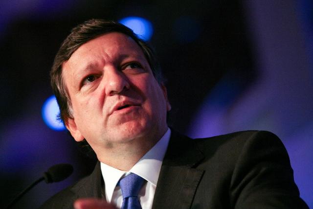 Remise du titre de docteur honoris causa de l'Université de Pittsburgh à José Manuel Barroso, président de la CE