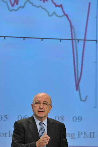 Press conference by Joaquín Almunia, Member of the EC, on the economic forecasts