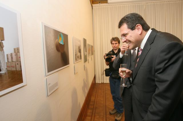 "Participation of Maroš Šefčovič, Member of the EC, at the award ceremony of the ""Imagine a new world"" photo competition"