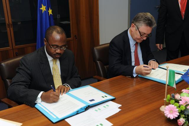 Signature du document de stratégie pays et le programme indicatif national (DSP/PIN) avec le Nigeria