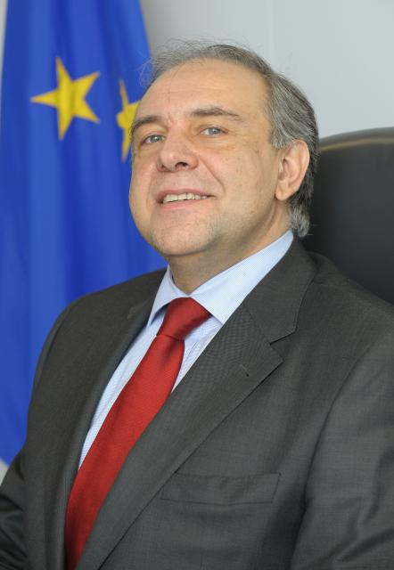 Joaquín Almunia, Vice-President designate of the EC, and the Members of his cabinet