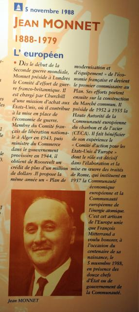 Tribute ceremony to Jean Monnet at the Pantheon, in Paris