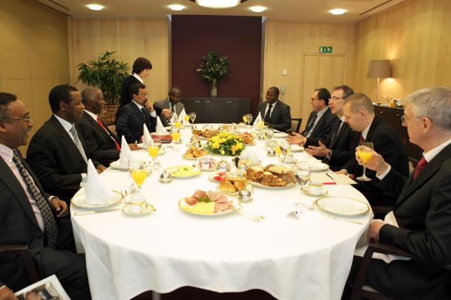 Visit of Thabo Mbeki, Former President of South Africa, to the EC