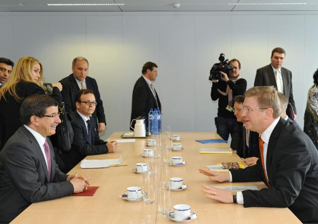 Visit of Ahmet Davutoğlu, Turkish Minister for Foreign Affairs, to the EC