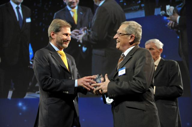 Participation of Johannes Hahn, Member of the EC, to the 2010 RegioStars Award ceremony