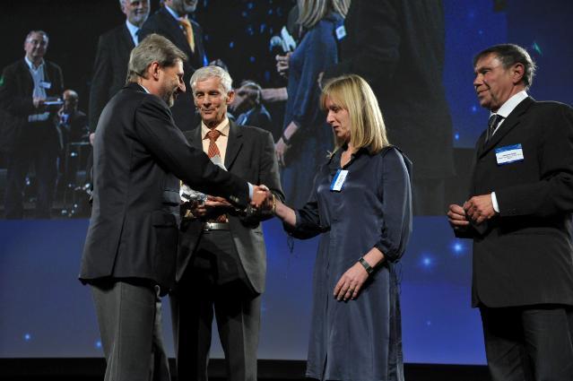 Participation of Johannes Hahn, Member of the EC, to the 2010 RegioStars Award ceremony
