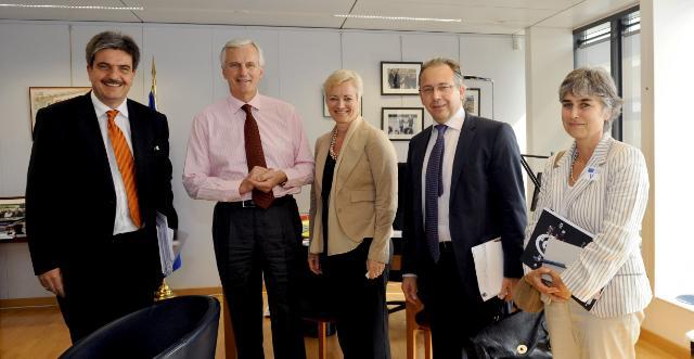 Visit of Jean-Paul Philippot, President of EBU, and Ingrid Deltenre, Director-General of EBU, to the EC