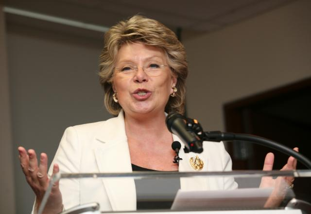 Visit of Viviane Reding, Member of the EC, to Washington