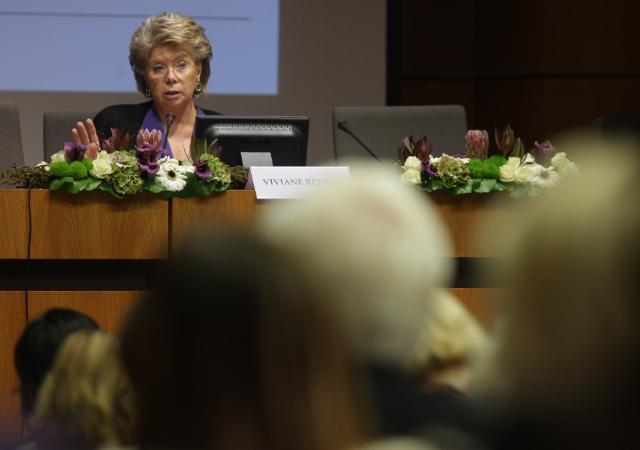 Speech by Viviane Reding, Vice-President of the EC, on gender equality