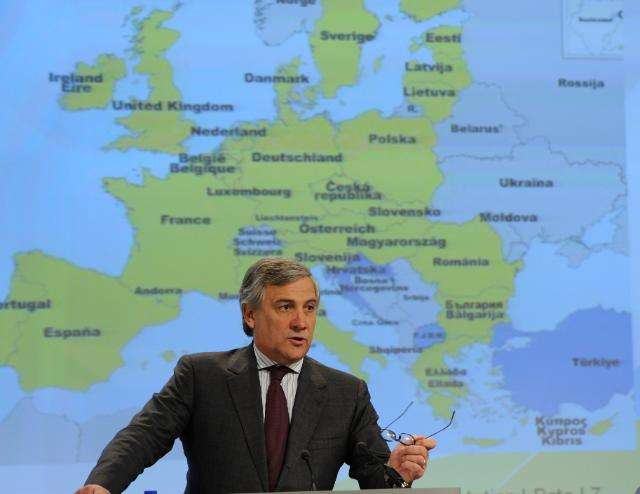 Press conference by Antonio Tajani, Vice-President of the EC, on the industrial policy for the globalisation era