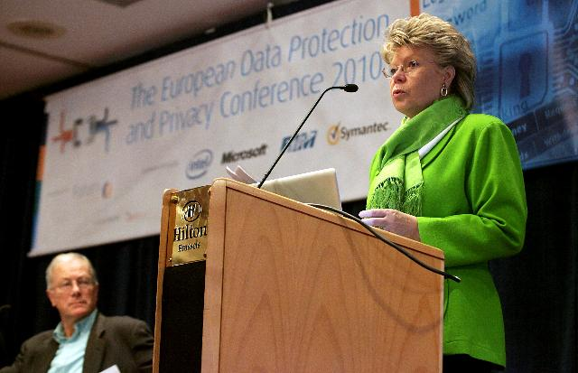 Participation of Viviane Reding, Vice-President of the EC, at the European Data Protection and Privacy conference