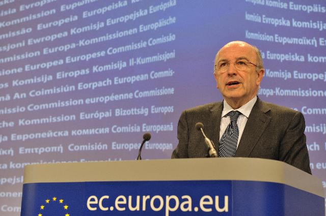 Press conference by Joaquín Almunia, Vice-President of the EC, on the prolongation of Temporary State Aid Framework until 2011