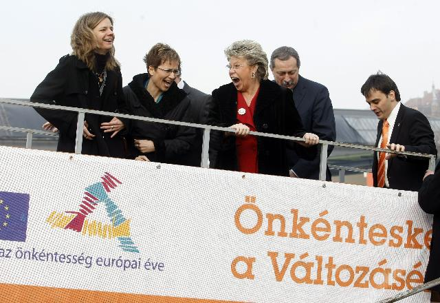 Launch of the European Year of Volunteering 2011 in Budapest