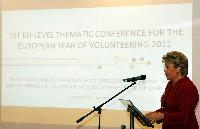 Lancement de l'Année européenne du volontariat 2011, à Budapest