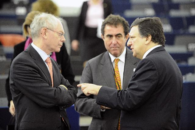 Participation of José Manuel Barroso, President of the EC, at the presentation of the Hungarian Presidency programme