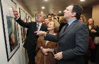 Participation of José Manuel Barroso, President of the EC, at the inauguration of a