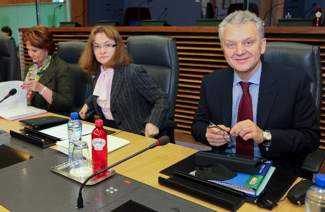 Visit of a delegation from the Russian government to the EC