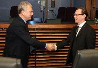 Visite d'une délégation du gouvernement russe à la CE