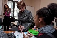 Visit of Neelie Kroes, Vice-President of the EC, at