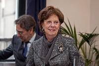 Visit of Neelie Kroes, Vice-President of the EC, at